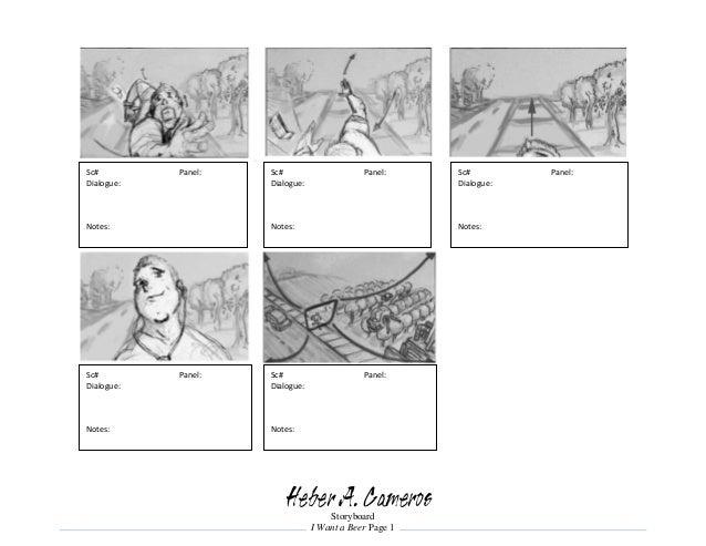 Heber A  Cameros - Storyboard Portfolio