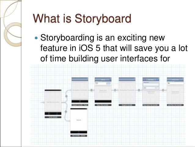Ios Storyboards