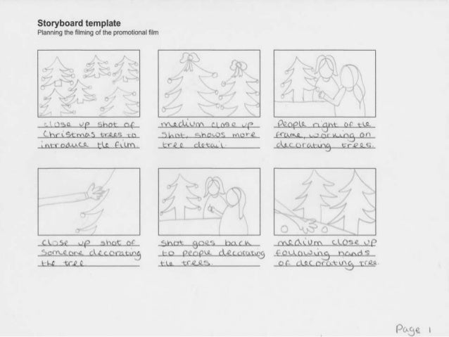 Storyboards For Video