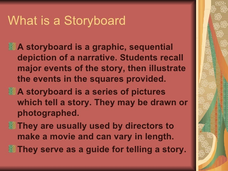 Storyboards For All Occasions