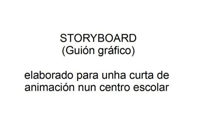 """Storyboard do conto """"Os sete irmáns chineses"""""""