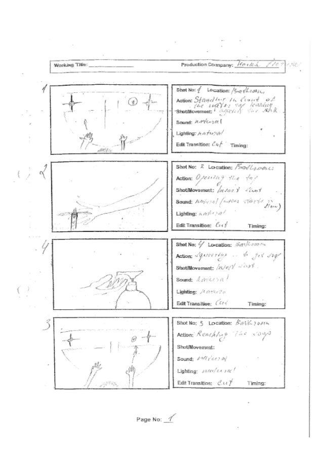 Final Story Board