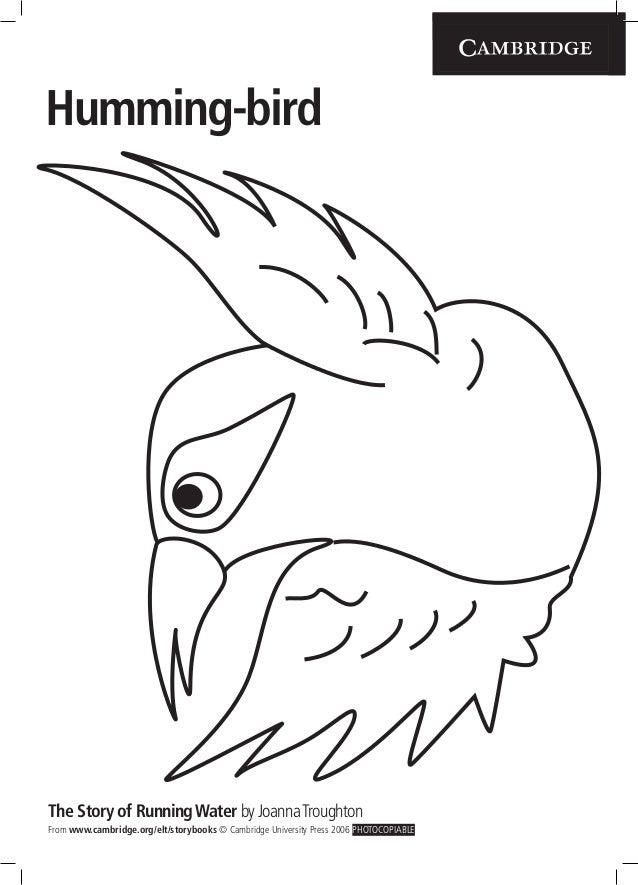 Storybooks app humming_birdmask
