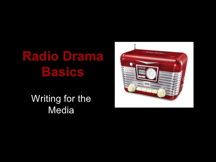 Creating Participatory Radio Drama with Children