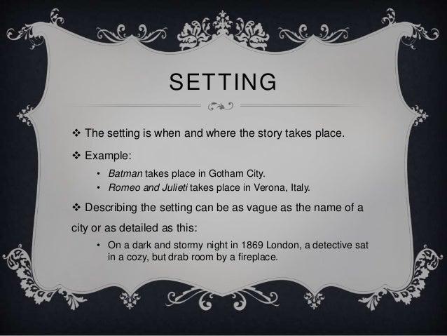 Story Elements Presentation  U0026 Activity