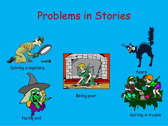 how to create a problem forv the story