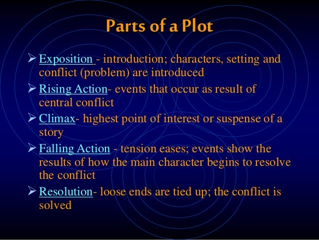 a description of setting as one of the most significant elements in a story Setting: the key to science fiction  one might argue that story elements such as plot  and visual descriptions will probably remain the most significant and.