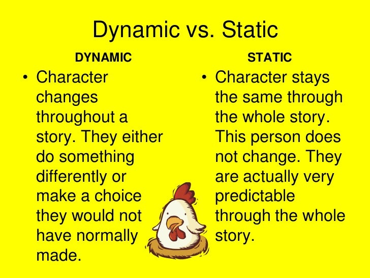 Dynamic Character Design Definition : Story elements ppt