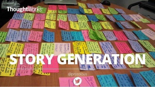 STORY GENERATION  @protolous