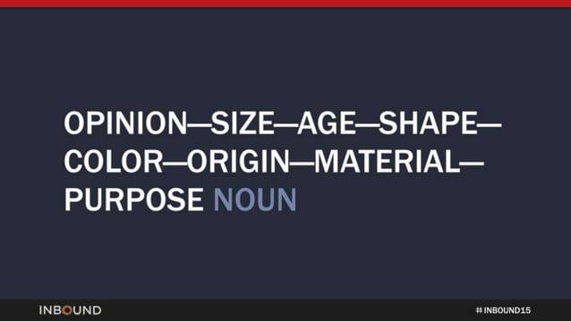 OP| N|ON—S| ZE—AG E—SHAPE— COLOR—ORIG| N—MATER| AL— PURPOSE NOUN  INBOUND :1 NNNNNNN 15