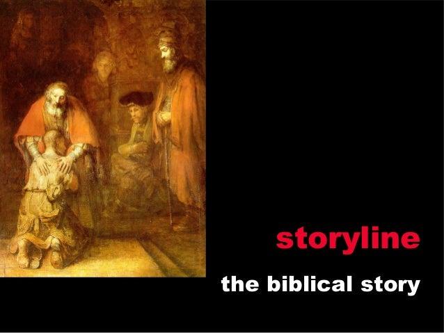 storylinethe biblical story