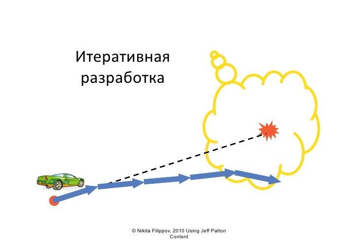 Итеративная   разработка               © Nikita Filippov, 2010 Using Jeff Patton                          Content