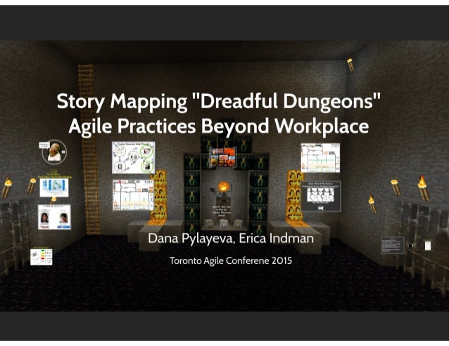 Story mapping Dreadful Dungeons. Agile practices beyond workplace
