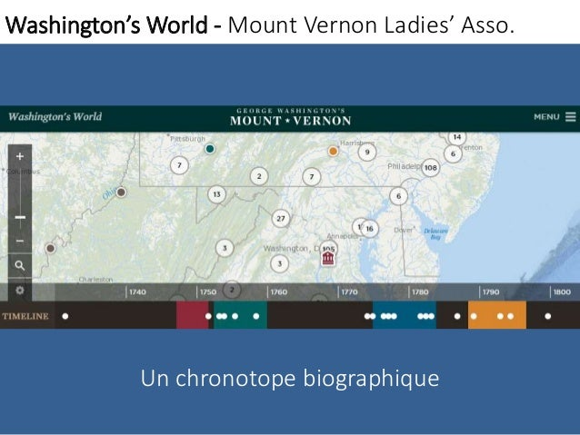 Washington'sWorld - Mount Vernon Ladies' Asso.  Un chronotope biographique