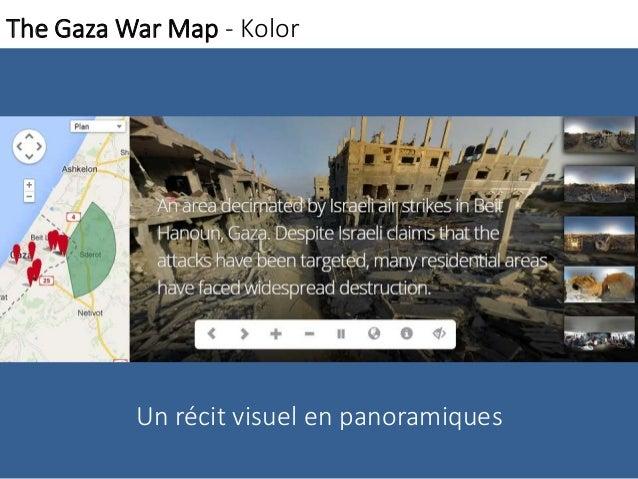 The Gaza WarMap - Kolor  Un récit visuel en panoramiques
