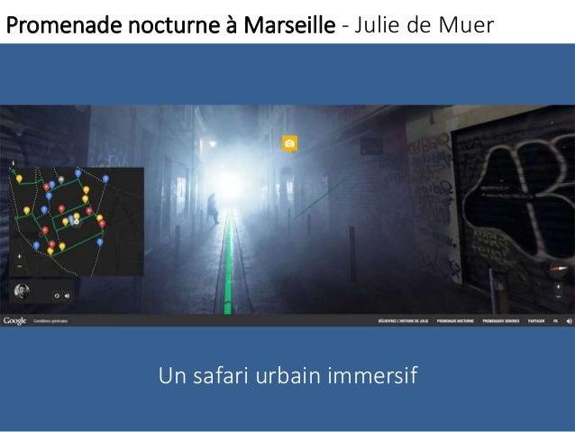 Promenade nocturne à Marseille - Julie de Muer  Un safari urbain immersif