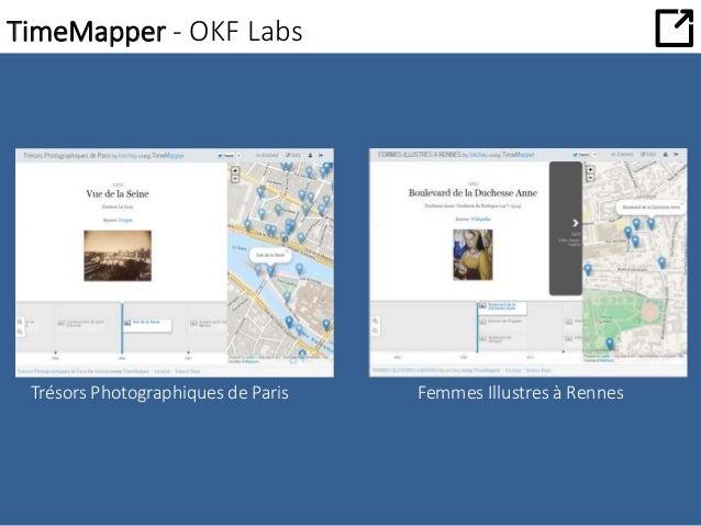 TimeMapper - OKF Labs  Trésors Photographiques de Paris Femmes Illustres à Rennes