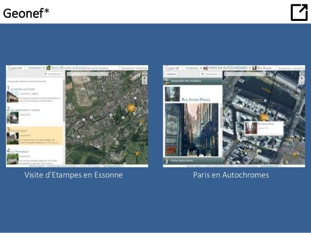 Geonef*  Visite d'Etampes en Essonne Paris en Autochromes
