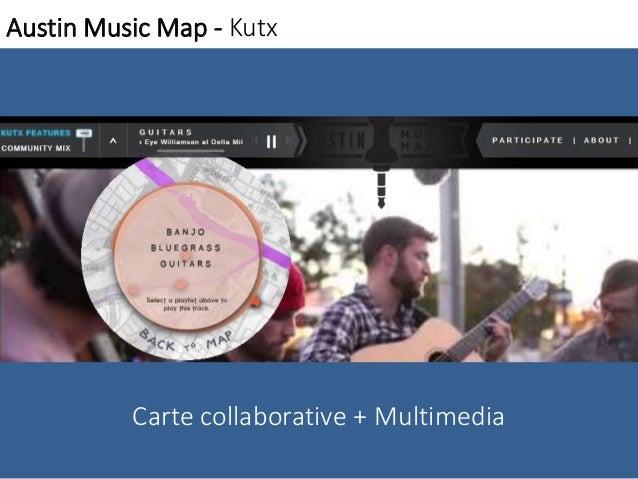 Austin Music Map - Kutx  Carte collaborative + Multimedia
