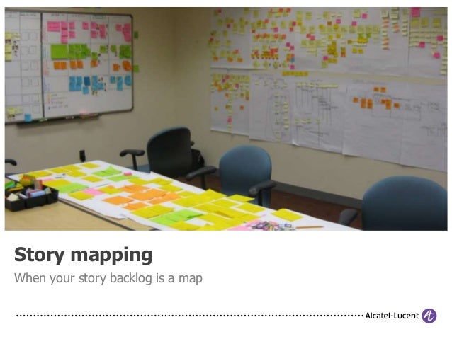 Story mappingWhen your story backlog is a map