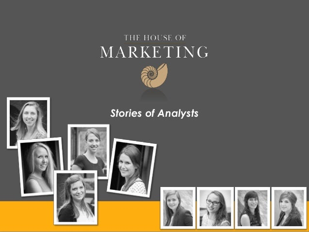 Stories of Analysts