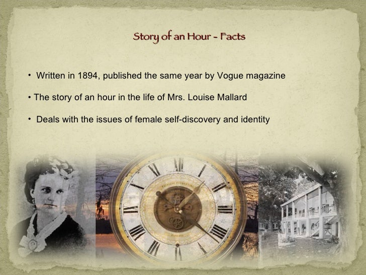 journal on the story of an hour by kate chopin essay