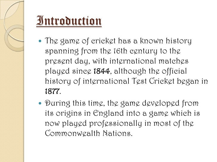 story of cricket essay Short essay on cricket ,essay on cricket , essay on my favourite game , short paragraph on cricket , paragraph on cricket , paragraph on my favourite game.