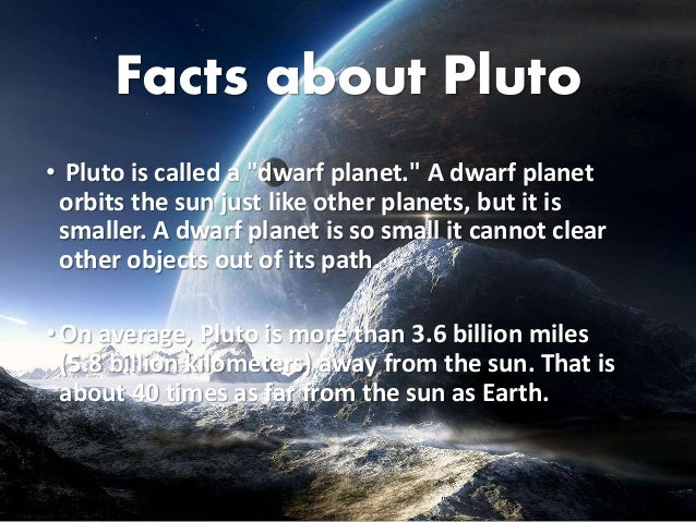 Story of pluto for Define pluto