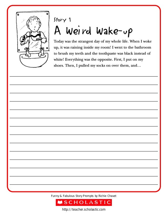 funny creative writing stories