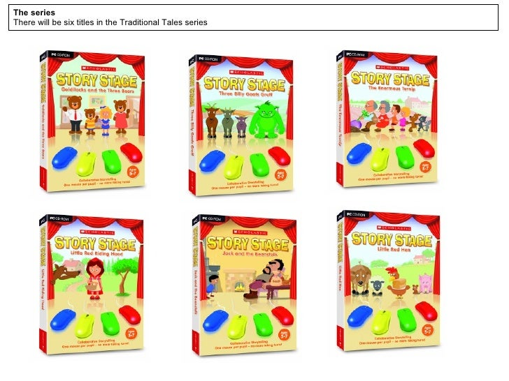 The series There will be six titles in the KS1 Traditional Tales series
