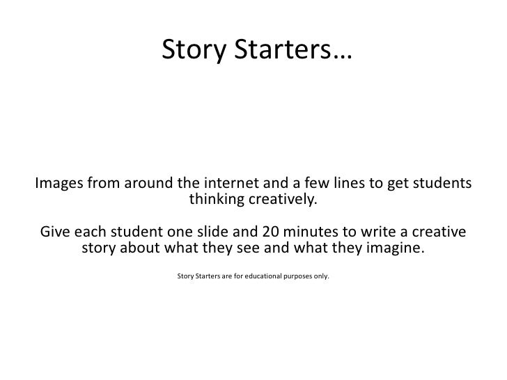 Writing prompts for a narrative essay - College essays and