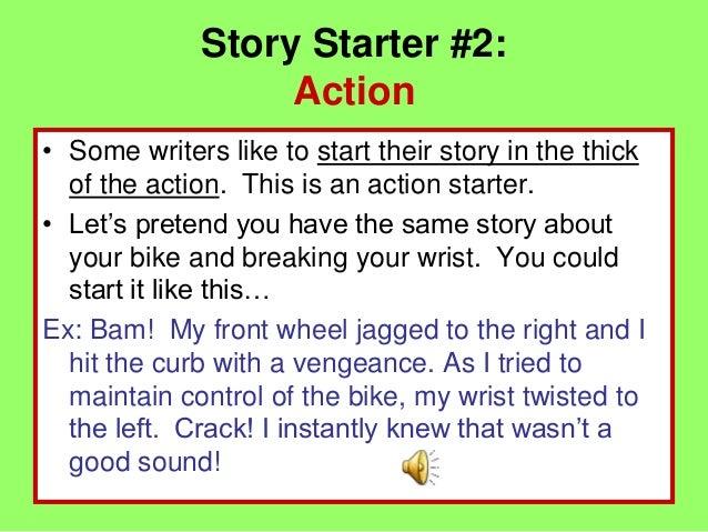 Story starters for Story starter com