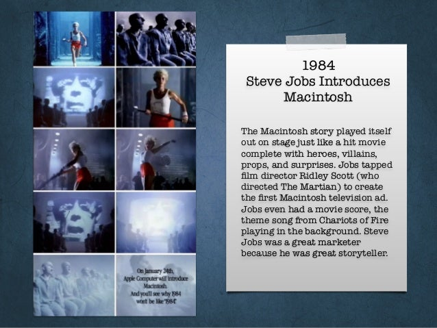 1984 Steve Jobs Introduces Macintosh The Macintosh story played itself out on stage just like a hit movie complete with he...