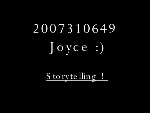 Storytelling!