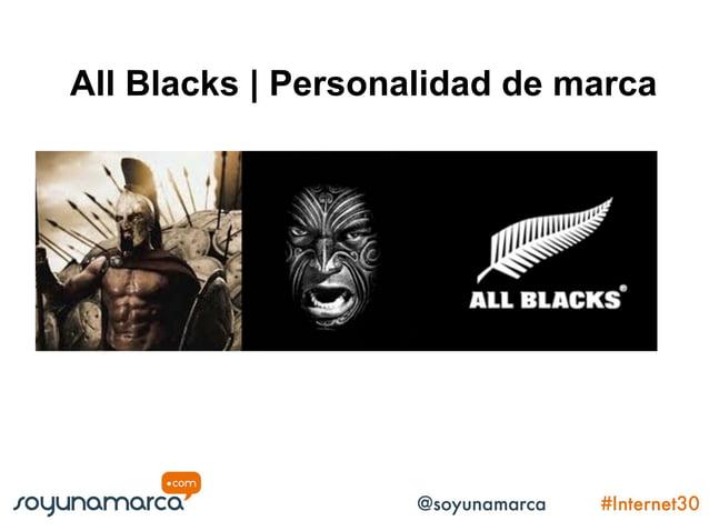 All Blacks | Personalidad de marca