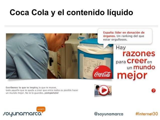 Coca Cola y el contenido líquido Comparte tu Coca Cola