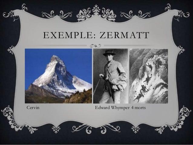 EXEMPLE: ZERMATTTourisme de masse