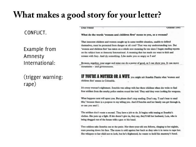 Captivating SlideShare Idea Appeal Letters