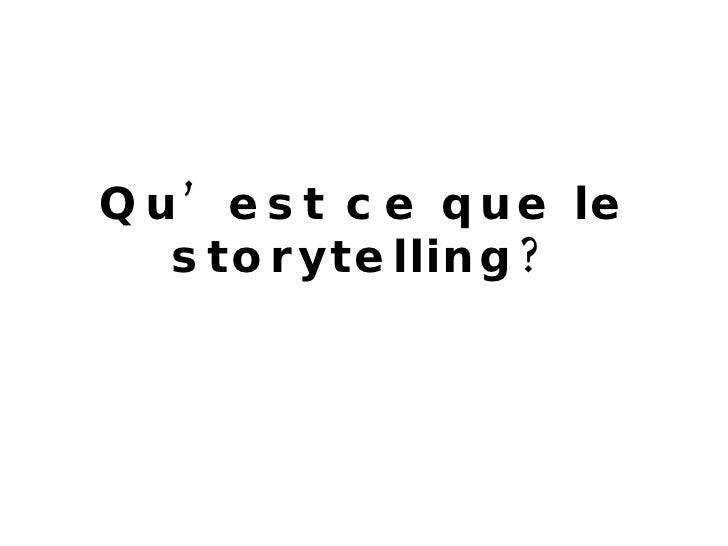 Storytelling De Marque Slide 2