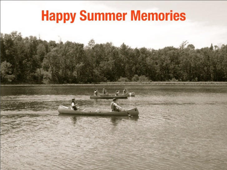 Happy Summer Memories