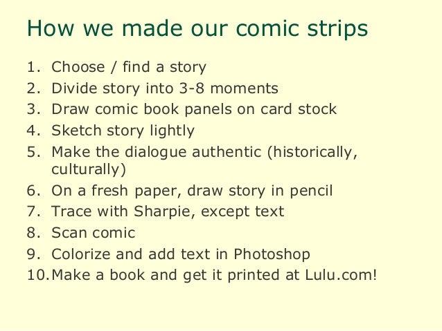 How to write a manga storyline