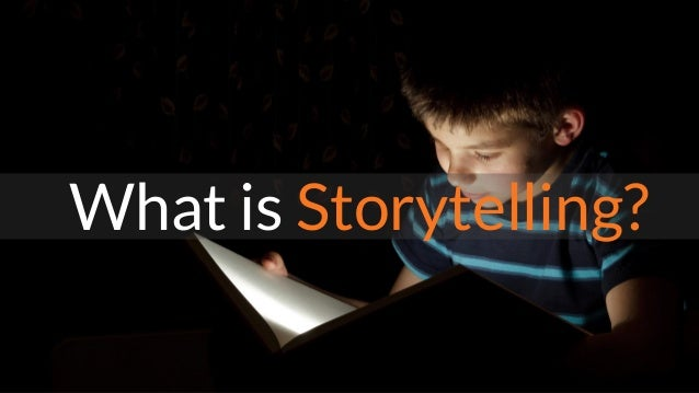Storytelling in a Digital World Slide 3