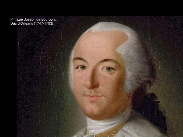Philippe Joseph de Bourbon, Duc d'Orléans (1747-1793)