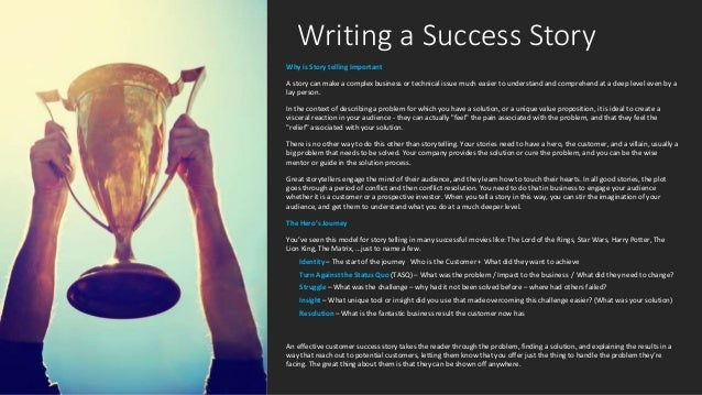 Success Story Template | Story Telling Template
