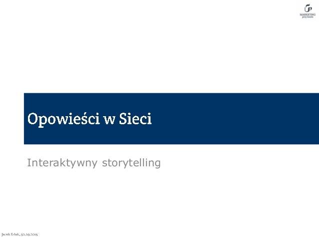 Interaktywny storytelling