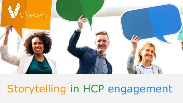 Storytelling in HCP engagement