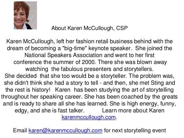 Storytelling in Your Presentation