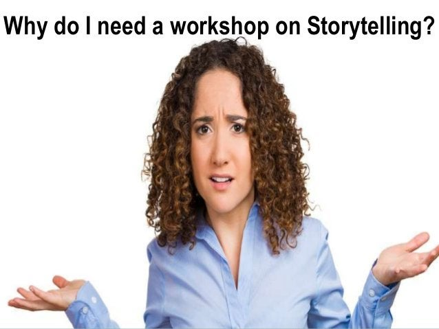 It's not about YOU A Presentation without Stories