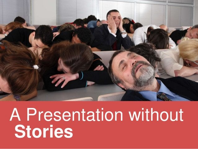 It's not about YOU A Presentation with Stories