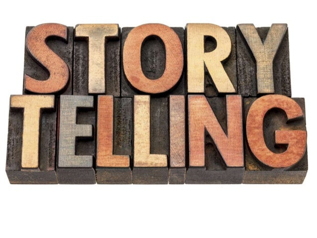 Misconception of Stories Why do I need a workshop on Storytelling?